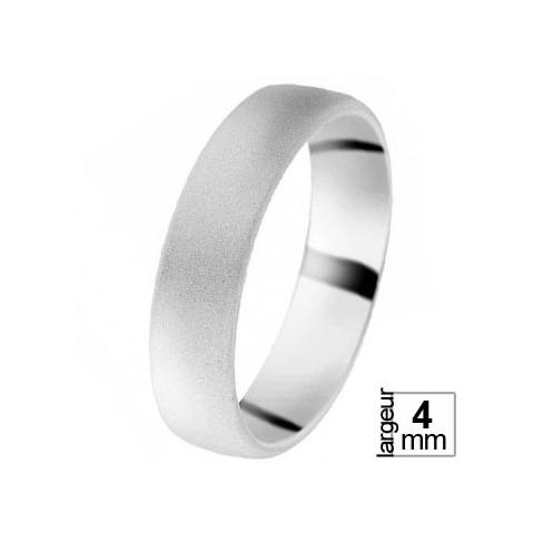 Alliance de Mariage Or blanc - 07030231