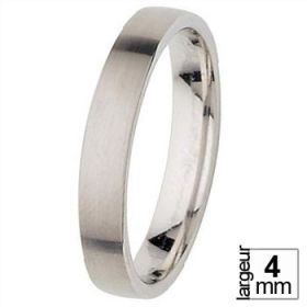 Alliance homme - Alliance de Mariage Or blanc
