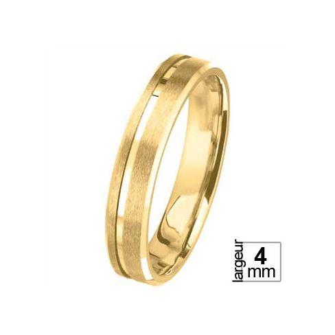 Alliance de mariage Or jaune