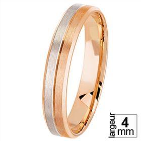 Voir toute la collection - Alliance de mariage 2 Ors 750