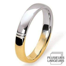 Alliance Or jaune - Alliance de mariage Or...