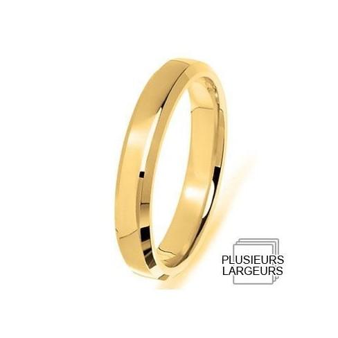 Alliance en Or jaune 04030056J - Boutique Alliance