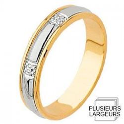Alliance de mariage 2 Ors - 04030082B