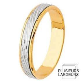 Alliances à moins de 600€ - Alliance de mariage 2 Ors