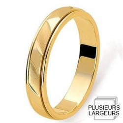 alliance de mariage or jaune 750 alliance or jaune alliance de mariage ...