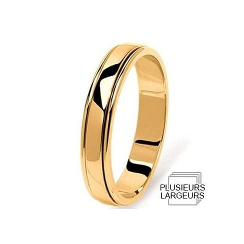Alliance Or jaune 750 millièmes fantaisie - 04030113J