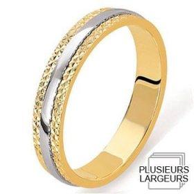 Alliance femme - Alliance de mariage 2 Ors 750