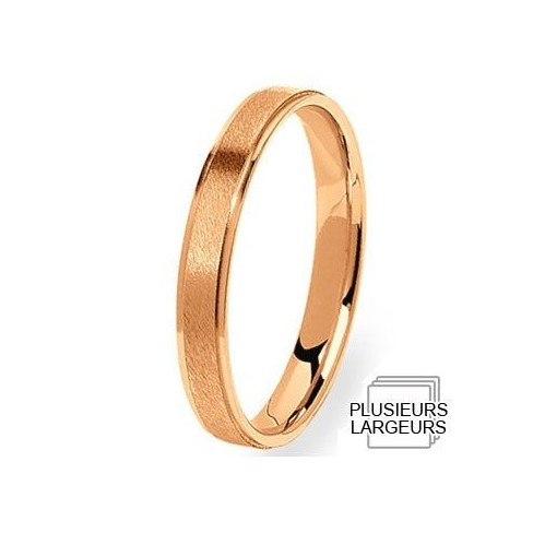 Alliance de mariage Or rose - 04031179R