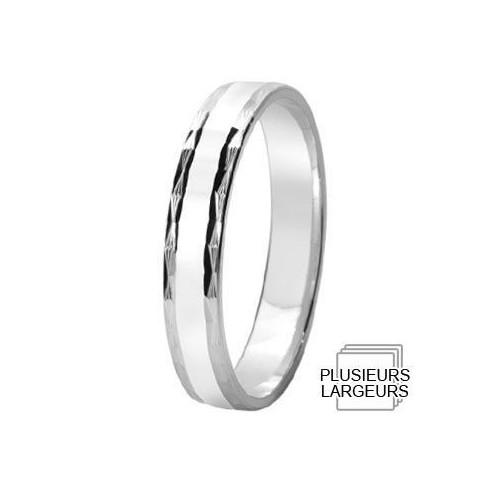 Alliance de mariage Argent - 12031714A