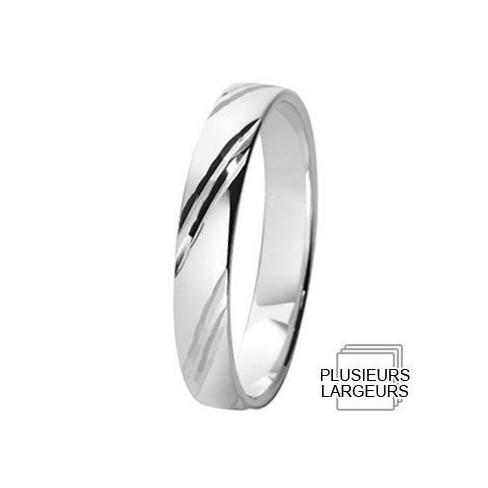 Alliance de mariage Argent - 12031710A