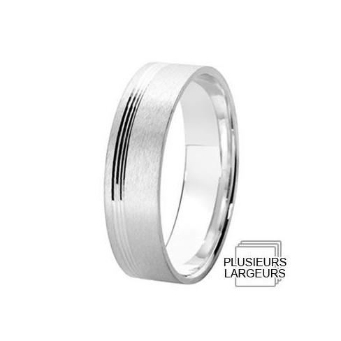 Alliance de mariage Argent - 12031705A