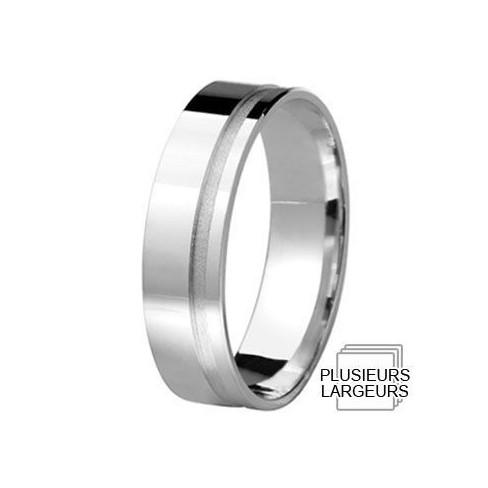 Alliance de mariage Argent - 12031703A