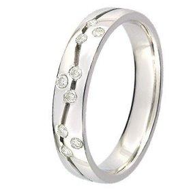 Alliance femme Diamant - 0.16 ct