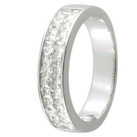 Alliance Diamant baguette - 1 ct
