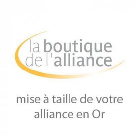 Services - Mise à taille alliance Or