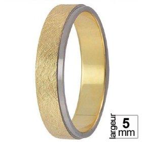 Alliance homme - Alliance de mariage 2 Ors 750