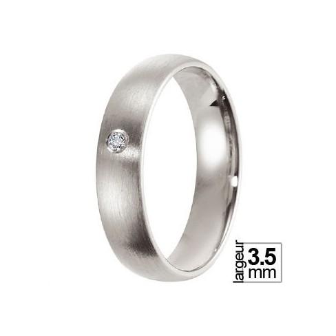 Alliance Allemande Platine et Diamant - 13774106P