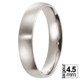 Alliance homme Platine - Alliance de mariage Platine