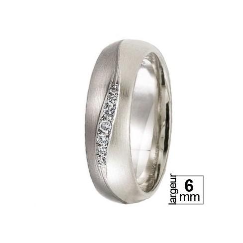 Alliance Diamants Palladium 500 et Or blanc 375 - Boutique Alliance