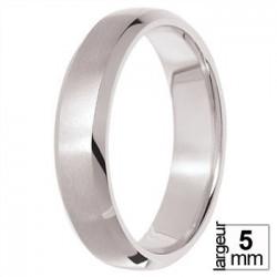Alliance de mariage Or blanc - 04021161