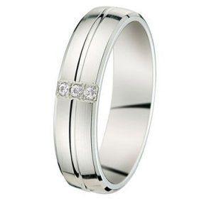Alliance homme Diamant - 0.05 ct