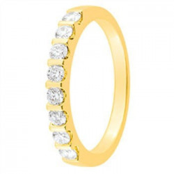 Alliance de mariage Or jaune et diamants