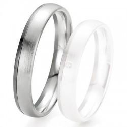 BOUTIQUE ALLIANCE - Alliance de mariage BREUNING Black & White - 13035058G
